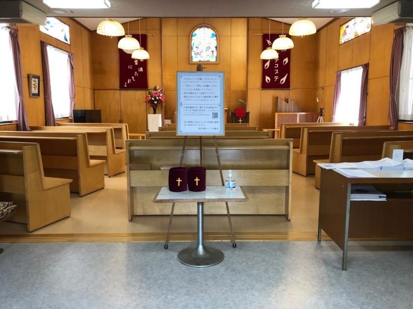 礼拝堂の様子